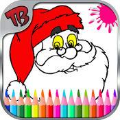 着色页为幼儿 - 教育着色页学前儿童的圣诞游戏