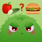 Healthy Food Monsters Game - 儿童的有趣的应用程序,以了解营养,健康饮食和快餐