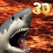 巨齿鲨沙鱼 潜水艇 迫害 - 放逐该糟糕沙鱼水下  3D 1.2
