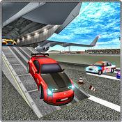 货物飞机汽车运输者3D模拟