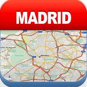 马德里离线地图 - 城市 地铁 机场