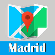马德里旅游指南地铁西班牙甲虫离线地图 Madrid travel guide and offline city map, BeetleTrip metro trip advisor