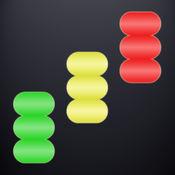 彩叠砌。河内塔的想法 (无广告) / Color Heap Puzzle. The idea of Hanoi Tower (ad-free)