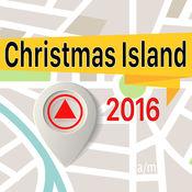 圣诞岛 离线地图导航和指南 1
