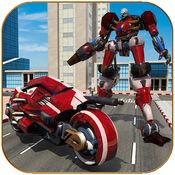 摩托机器人变换模拟器