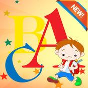 ABC词汇彩图等级1-6:字着色页学习,为孩子和幼儿游戏的乐趣 1