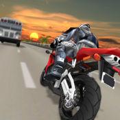 Moto Traffic Racer. 赛车游戏 摩托车比赛在 3D