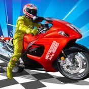 摩托车越野赛自行车骑手:运动儿童自行车赛车