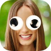 找到的眼睛贴纸-照片编辑器疯狂眼睛