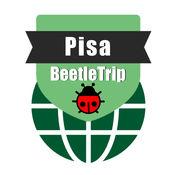 比萨旅游指南地铁意大利甲虫离线地图 Pisa travel guide and offline city map, BeetleTrip Pisa metro train trip advisor2.1