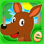 儿童益智动物游戏的孩子,幼儿免费