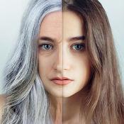 变老应用老化面对显得更老