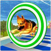 疯狂的狗跳特技3D历险记