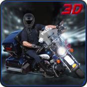 城市警察摩托车司机 - 驾驶警察自行车 2