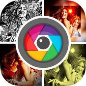 FilterPic - 最好的专业滤镜和特效为你的照片编辑器自拍照