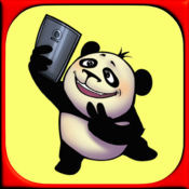 搞笑熊猫 - 幽默贴纸和情感图片