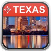 离线地图 美国得克萨斯州