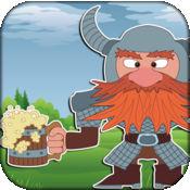 疯狂可爱的维京人 - 一个微小的北方战士跳跃游戏 1