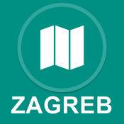 萨格勒布,克罗地亚 : 离线GPS导航