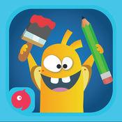 孩子学龄前学习游戏 - 免费游戏和学习使用动觉教育学教幼