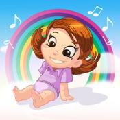 儿歌:彩虹糖果音乐盒(第四辑)听儿歌、讲故事的应用玩具