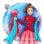 冬季时装设计师游戏: 设计你的衣服
