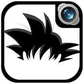 照片编辑器为超级赛亚人龙珠Z:漫画角色扮演