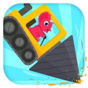 恐龙挖掘机2 - 驾驶汽车和赛车儿童游戏总动员 1.0.2