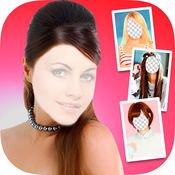 化妆的照片编辑器,发型及理发 1
