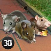 老鼠城市生活模拟器3D