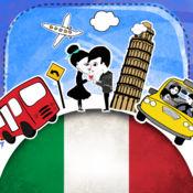 意大利语字典 - 带有抽认卡和母语发音的免费离线短语手册