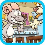 鼠标与猫跑冒险...