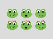 青蛙贴纸包