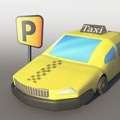 疯狂的城市出租车停车疯狂促 - 疯狂的道路驾驶技能比赛
