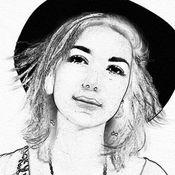 绘图效果 铅笔素描 照片肖像 画画