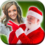 圣诞节圣诞老人自己 - 圣诞照片编辑器,使拼贴与圣诞老人 1