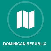 多明尼加共和国 : 离线GPS导航1