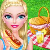 夏日野餐聚会 - 周末时尚换装游戏