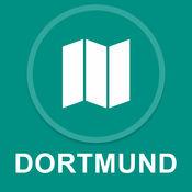 德国多特蒙德 : 离线GPS导航