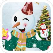 装扮圣诞雪人-女生儿童教育小游戏免费