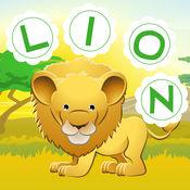 美国广播公司野生动物园!儿童游戏: 学习 写单词和字母的沙漠