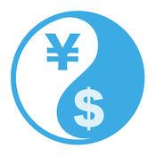 FX Diff - 直观比较外汇货币对: 比特币, 以太坊, 加密貨幣