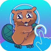 Space Beaver - 太空海狸 酷反应游戏与势 中心单安趣 软