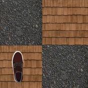 运行于建筑屋面亲 - 凉爽的虚拟赛车街机游戏
