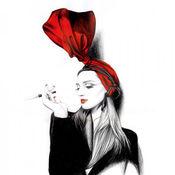 时尚主题艺术作品收藏高清图库:个性创作名言及图片主题壁纸