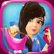 时装模特: 3D花式女孩换装游戏