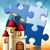 城堡益智游戏 – 接受挑战和布置块完成图片
