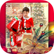 圣诞节照片框架2016年