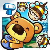 Honey Battle - 保护蜂箱从熊