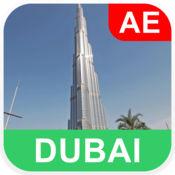 阿联酋的迪拜, 离线地图 - PLACE STARS